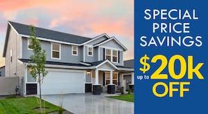 $20k Special Price Savings